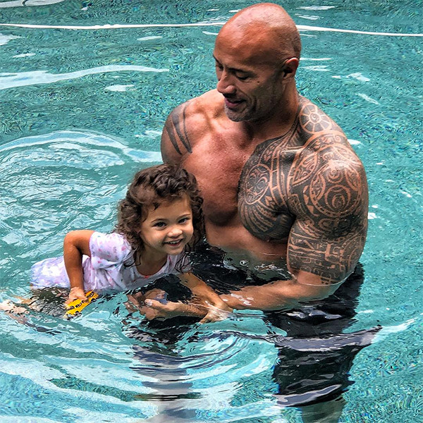 Dwayne Johnson, Daughter, Jasmine