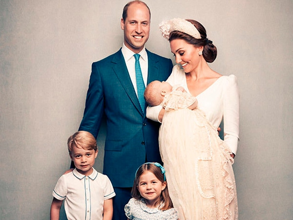 See Prince Louis' Official Christening Photos With the Royal Family