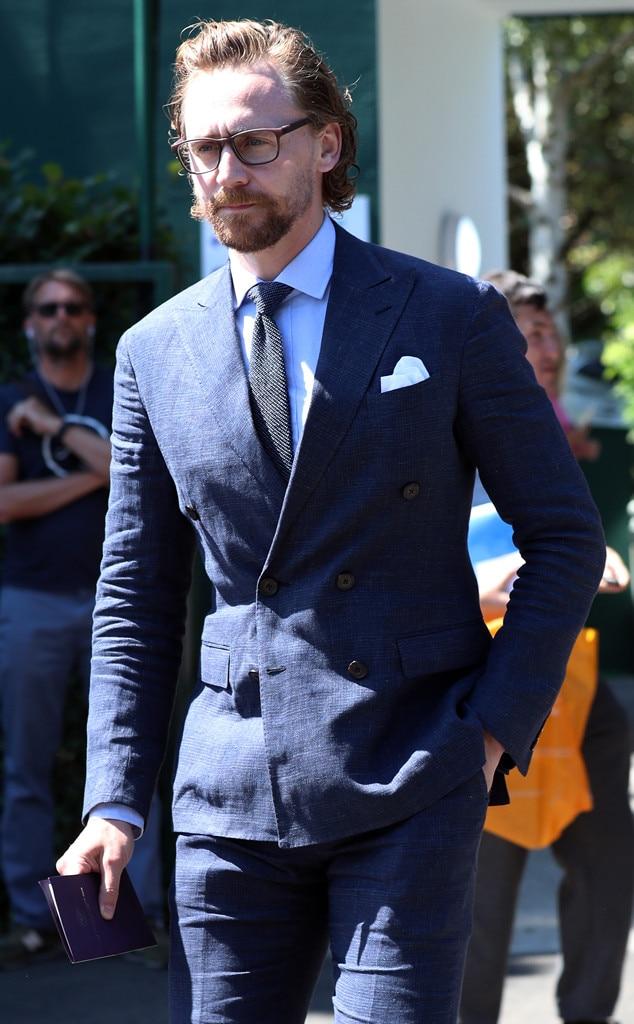 Wimbledon 2018, Tom Hiddleston