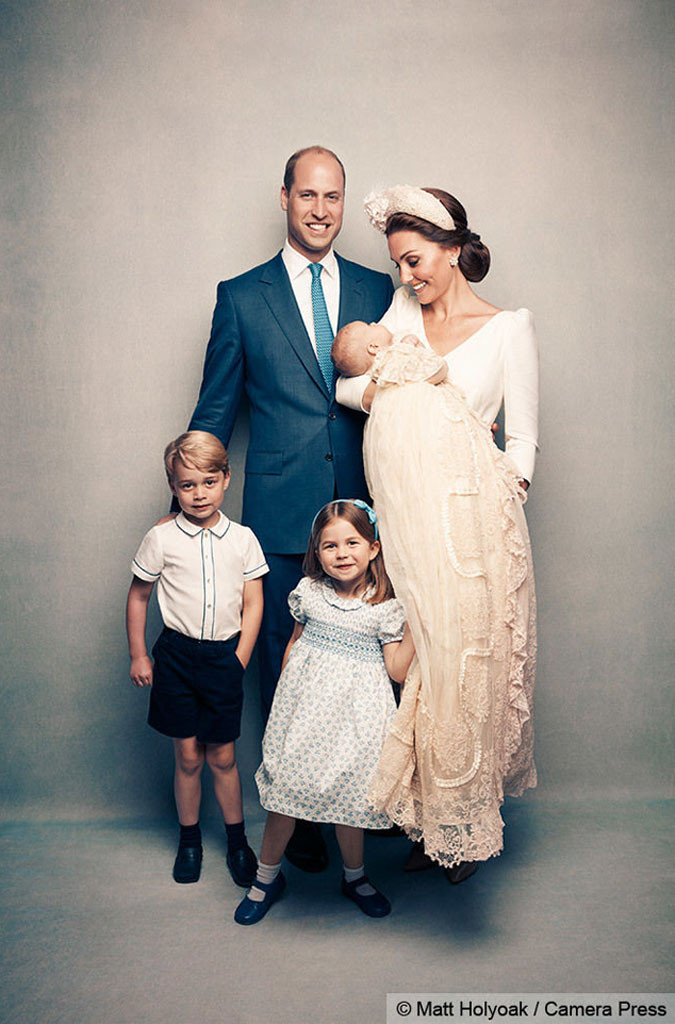 Prince Louis Christening, Prince Louis, Prince George, Princess Charlotte, Prince William, Kate Middleton