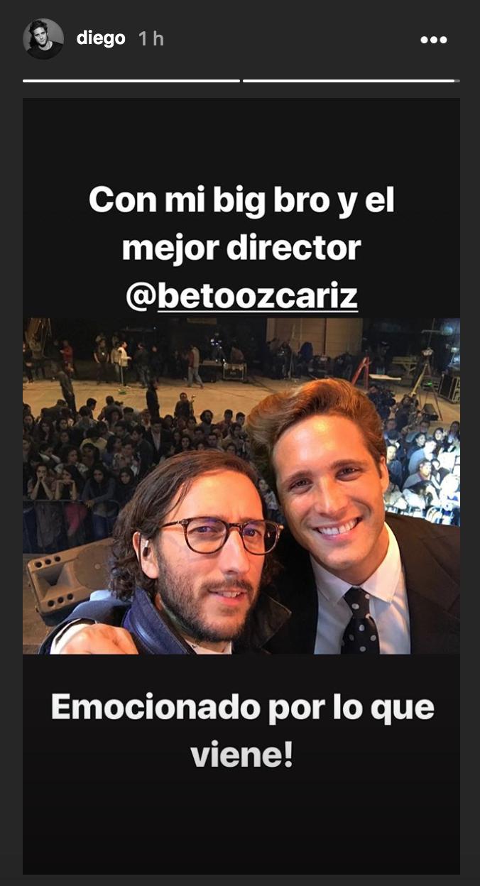 Diego Boneta, Luis Miguel, La Serie, segunda temporada