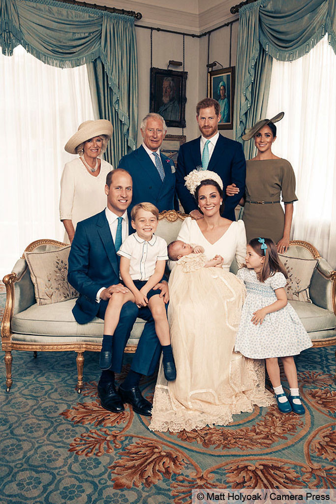 Prince Louis Christening, Prince Louis, Prince George, Princess Charlotte, Prince William, Kate Middleton, Meghan Markle, Prince Harry
