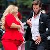 Rebel Wilson, Liam Hemsworth, Isn't It Romantic Filming