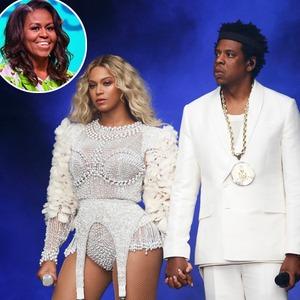 Beyonce, Jay Z, Michelle Obama
