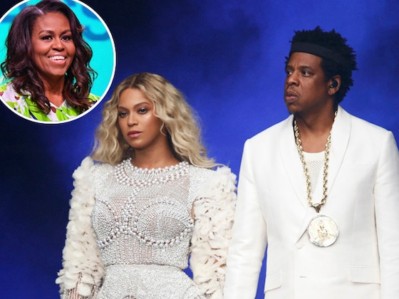 Michelle Obama Had the Best Time at Beyoncé and Jay-Z's On the Run II Concert