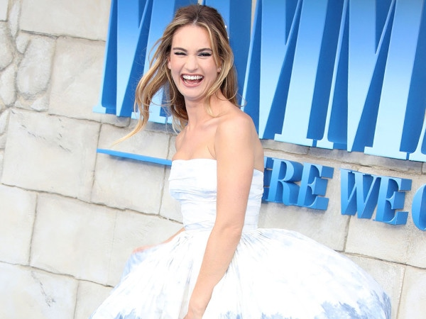 <i>Mamma Mia! Here We Go Again</i> Review Roundup: A Catapulting Role for Lily James