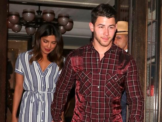 Priyanka Chopra & Nick Jonas Step Out For Double Date With Joe Jonas & Sophie Turner