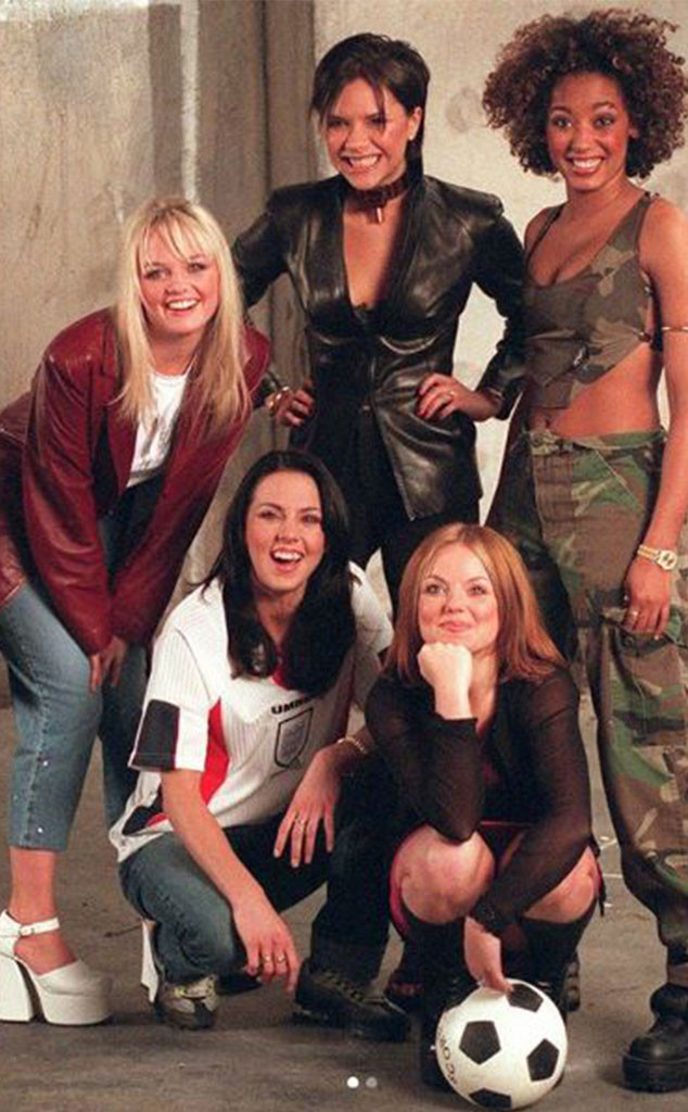 Spice Girls, Instagram