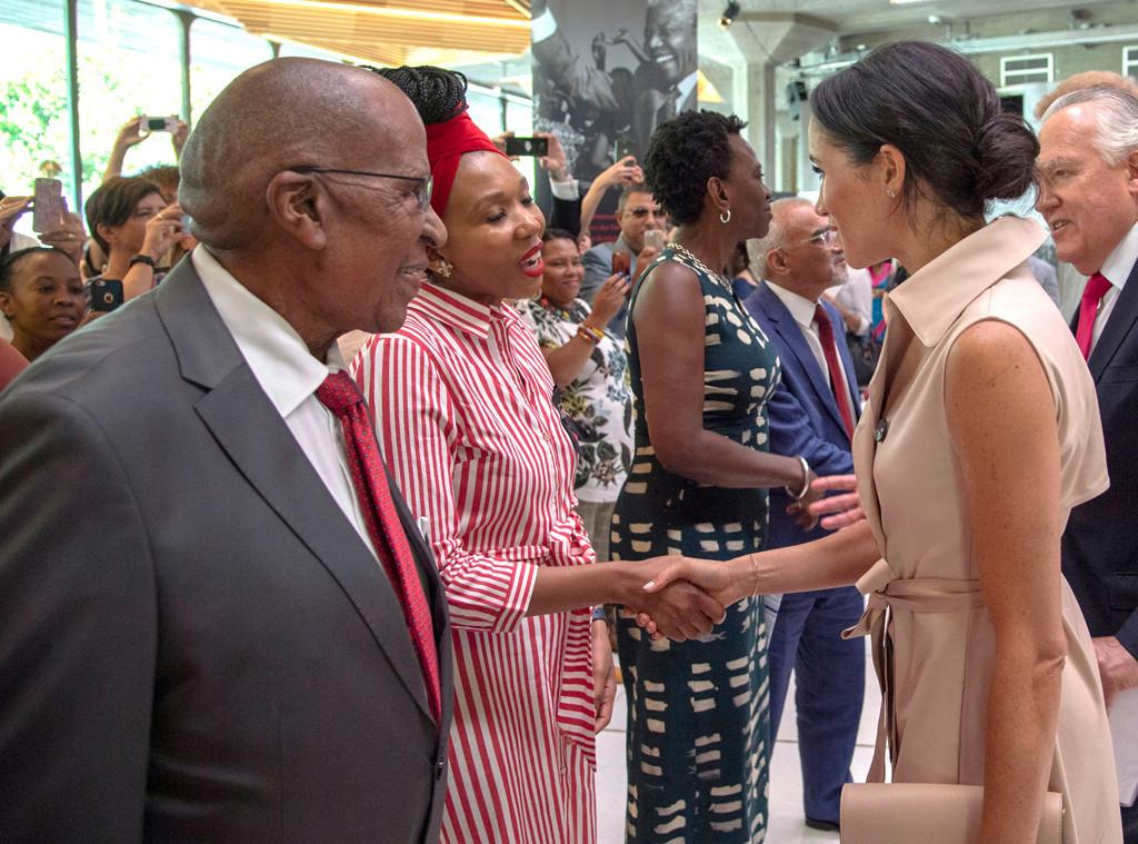 Meghan Markle, Zamaswazi Dlamini-Mandela