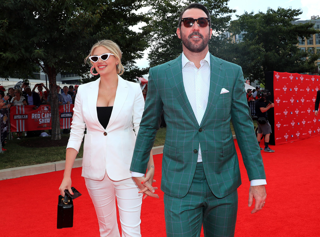 Kate Upton, Justin Verlander, MLB All-Star Game