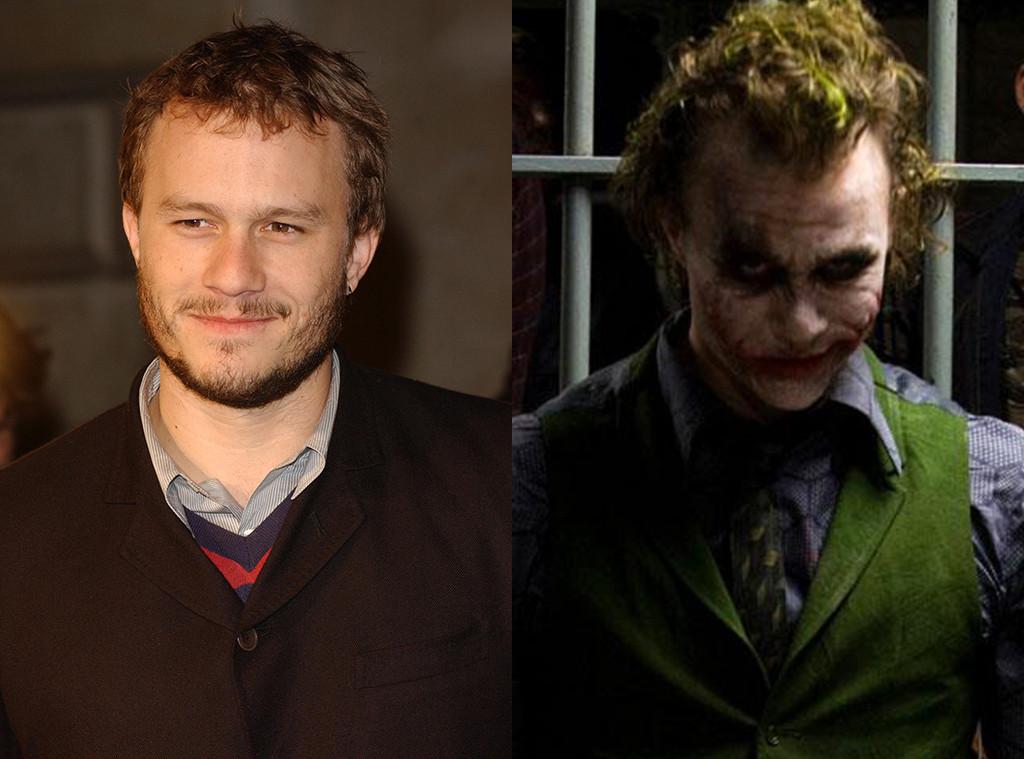 Heath Ledger, The Joker, The Dark Knight