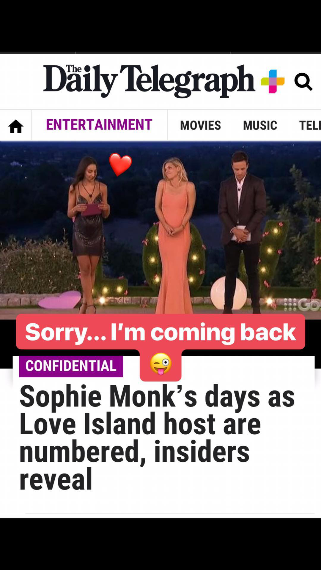 Sophie Monk