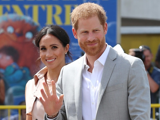 Prince Harry and Meghan Markle Channel Princess Diana at Nelson Mandela Exhibit