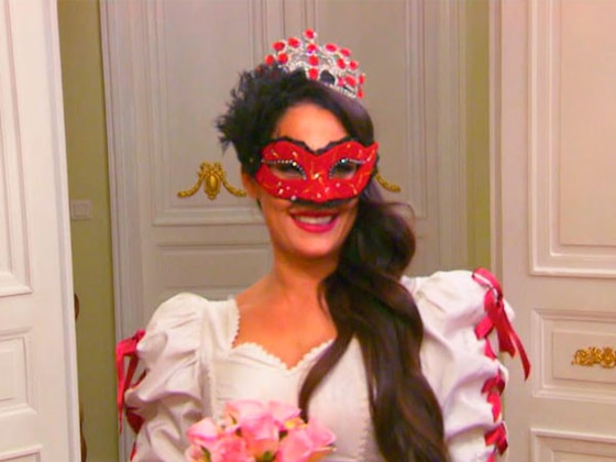 Nikki Bella Practices Walking Down the Aisle During a Masquerade Party on <i>Total Bellas</i>: ''I'm in Heaven!''