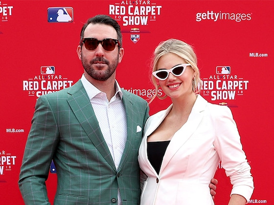 Kate Upton Debuts Growing Baby Bump on the Red Carpet