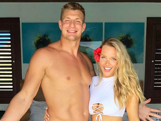A Rundown of Rob Gronkowski's Romance With <i>Sports Illustrated Swimsuit</i> Model Camille Kostek