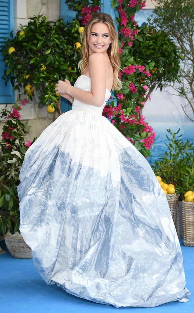 ESC: Best Dressed, Lily James