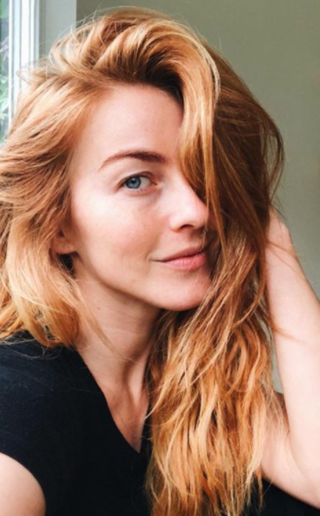 Julianne Hough, Makeup-Free Selfie
