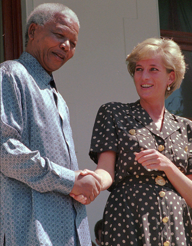 Nelson Mandela, Princess Diana