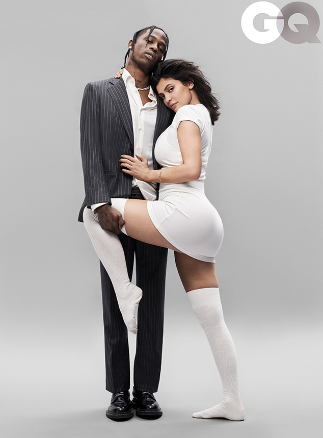 Kylie Jenner, Travis Scott, GQ
