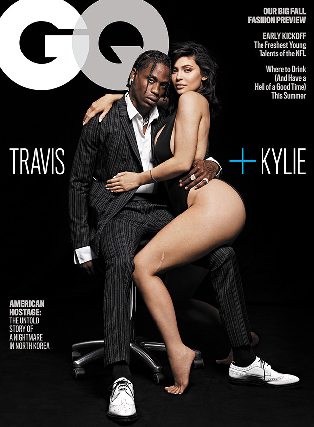 Image result for travis scott kylie jenner gq