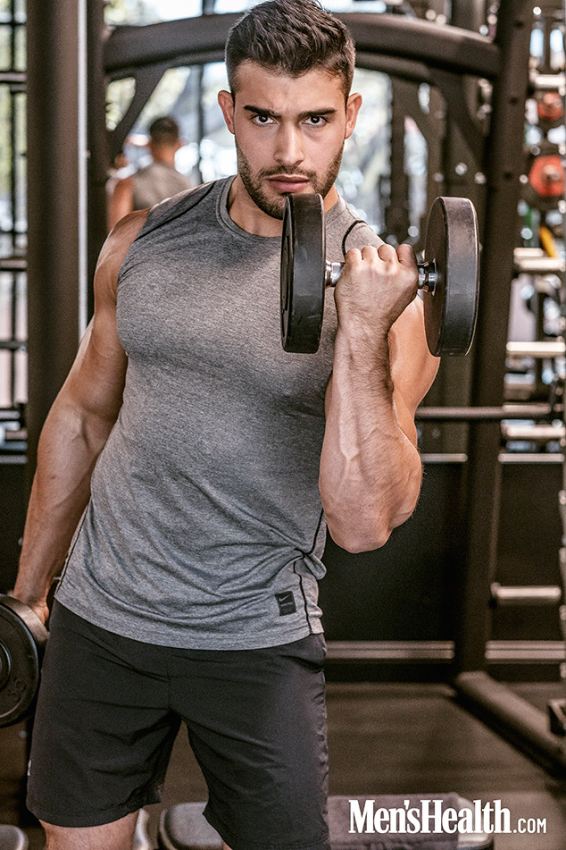 Sam Asghari, Men's Health
