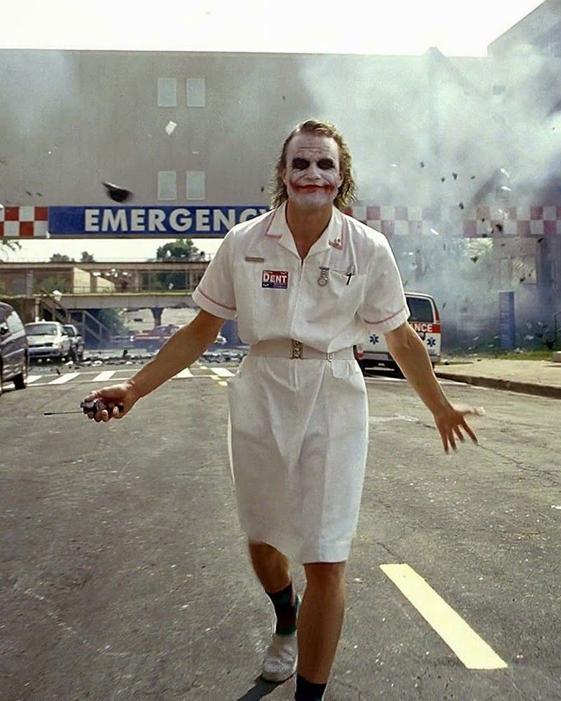 Heath Ledger, The Joker, Joker, The Dark Knight