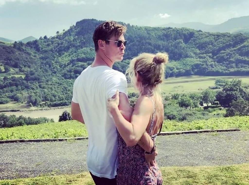 Chris Hemsworth, Elsa Pataky, Instagram