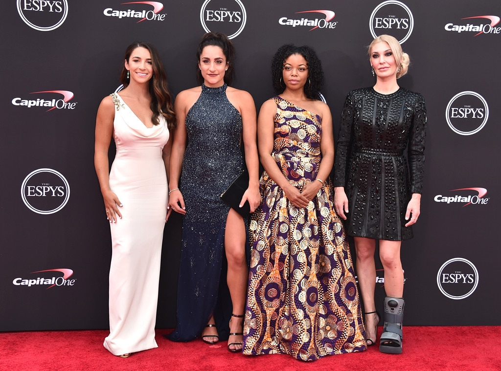 'Sister Survivors' of USA  gymnastics sexual abuse honoured in ESPY