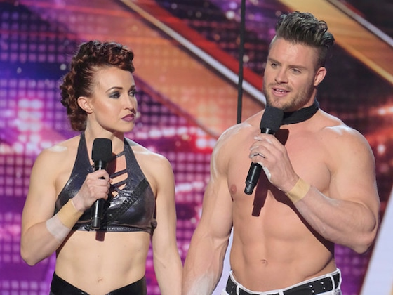 <i>America's Got Talent</i> Act Goes Wrong: Wife of Acrobatic Duo Falls From Trapeze