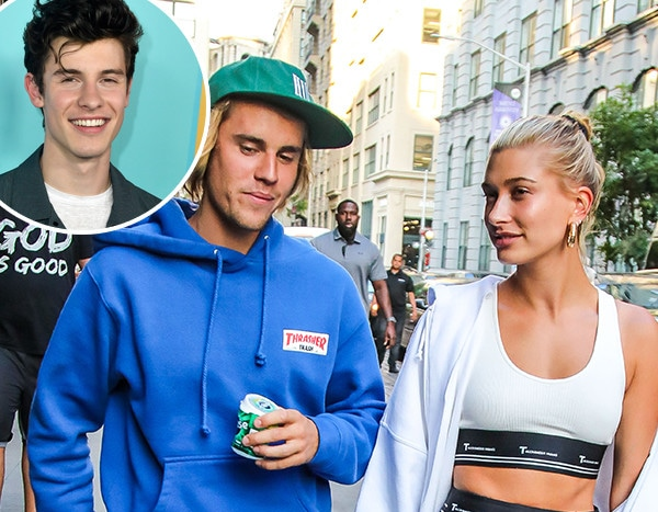 Shawn Mendes Speaks Out on Hailey Baldwin, Justin Bieber's Engagement