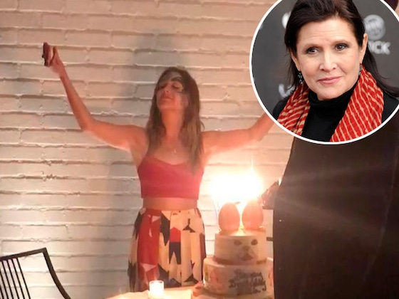 How Carrie Fisher Played a Special Part in Billie Lourd's Birthday Celebration