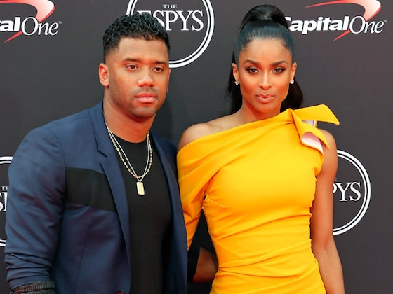 Ciara and Russell Wilson Dazzle on the 2018 ESPYs Red Carpet