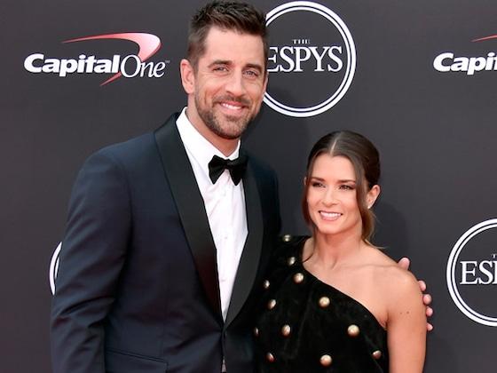 Danica Patrick and Aaron Rodgers Make Red Carpet Debut at 2018 ESPYS