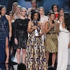 Aly Raisman and More Survivors of Larry Nassar's Abuse Awarded Arthur Ashe Courage Award at 2018 ESPYS
