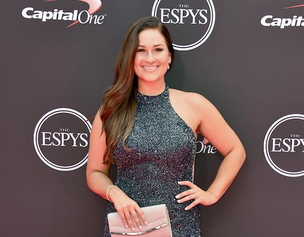 Lauren Chamberlain From Espys 2018 Red Carpet Fashion E