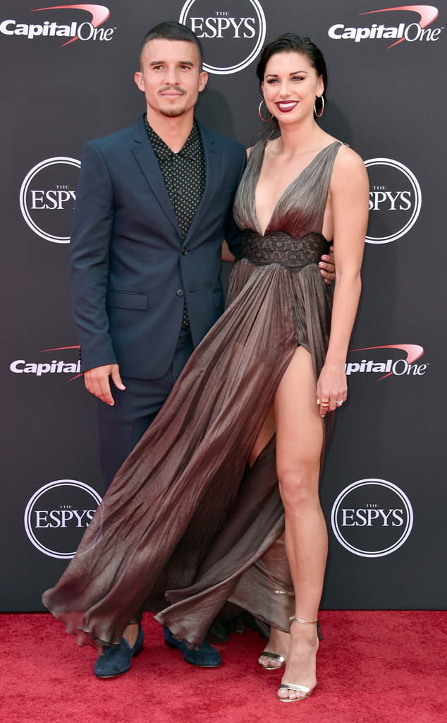 Alex Morgan, Servando Carrasco, 2018 ESPYs