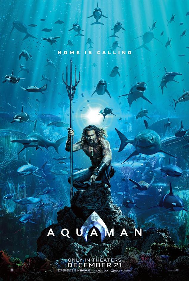 Aquaman, Poster, Jason Momoa