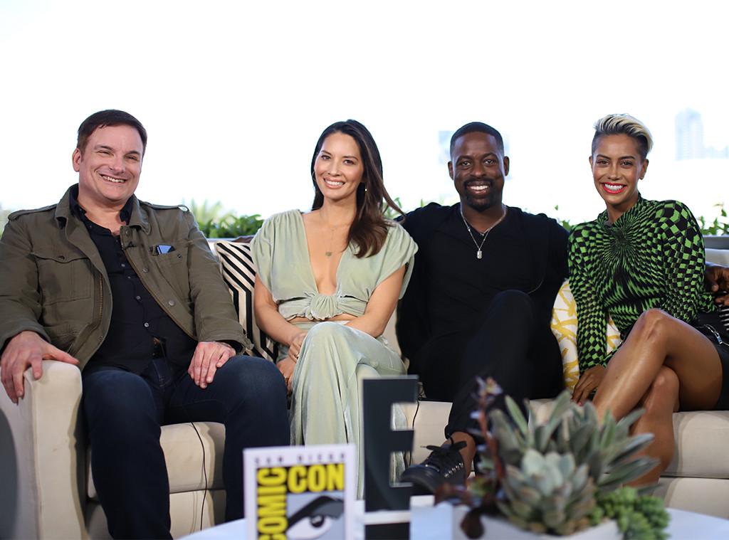 2018 Comic-Con, Predator, Sterling K. Brown, Olivia Munn