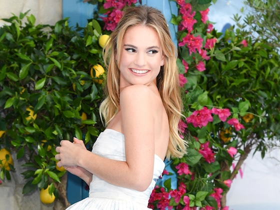 Lily James Channels <i>Cinderella</i> and More Best Dressed Stars