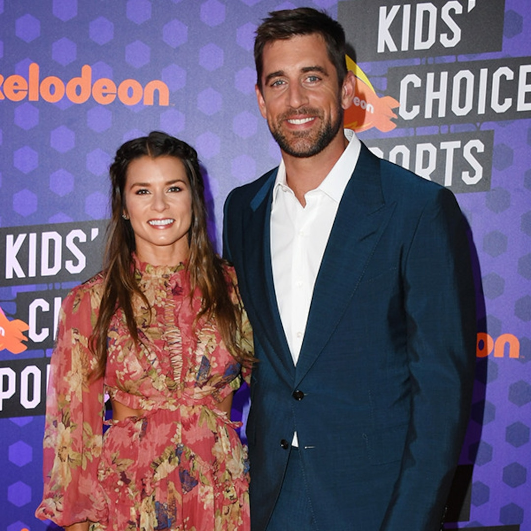 How Aaron Rodgers Found His Perfect Teammate In Danica Patrick E Online