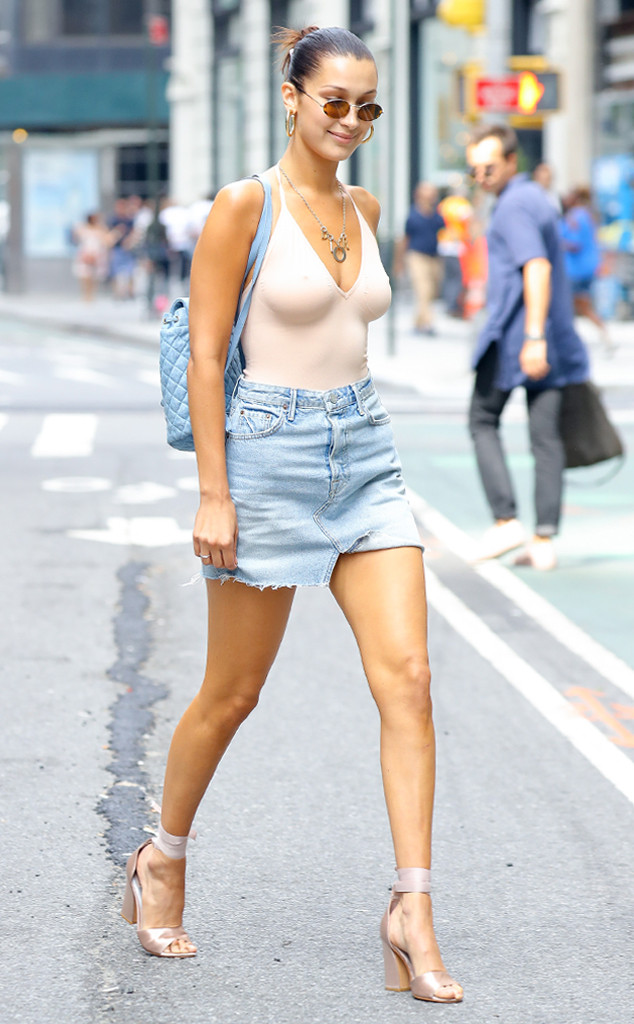 87c34987 3 Celebrity-Inspired Tricks to Wear a Bodysuit Like Bella Hadid | E ...