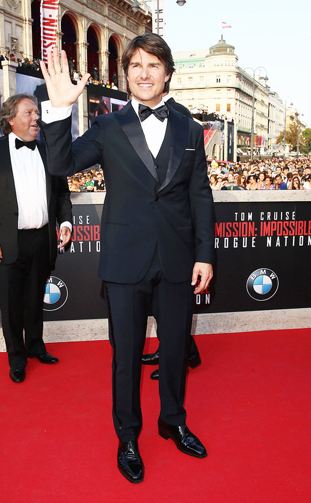 Tom Cruise, Mission: Impossible - Rogue Nation World Premiere