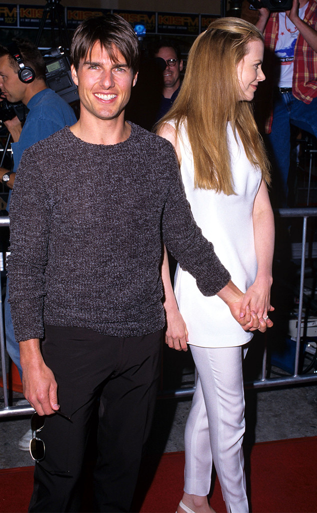 Tom Cruise, Nicole Kidman, 1996 Premiere of Mission Impossible
