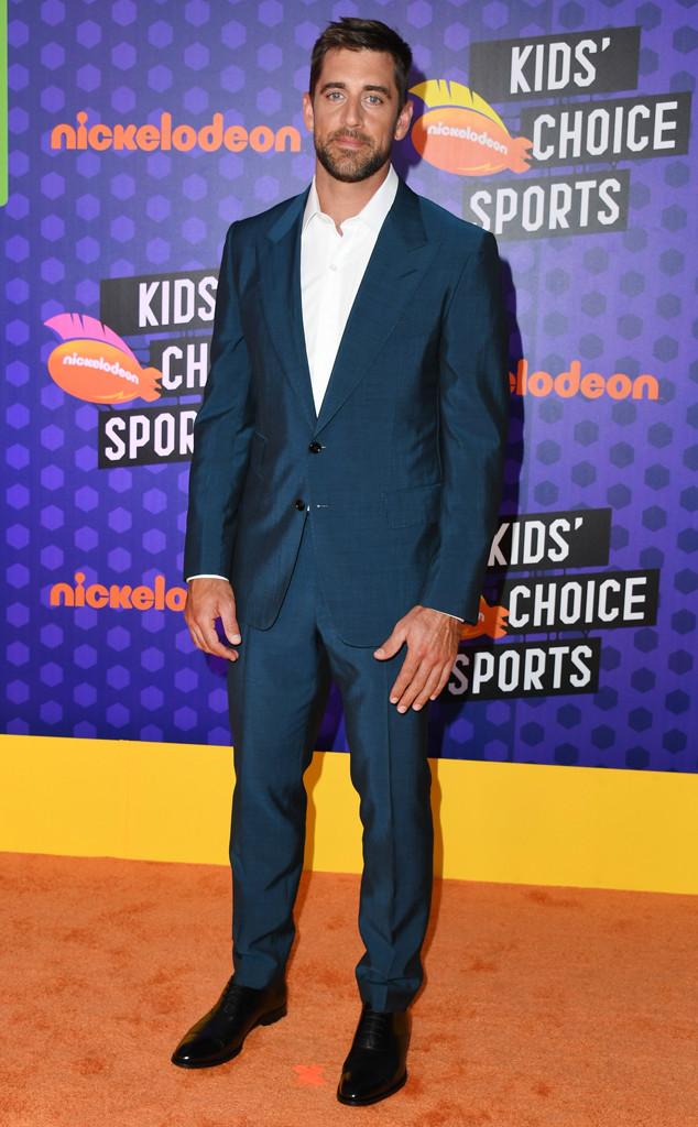 Aaron Rodgers, Nickelodeon Kids Choice Sports 2018