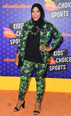Ibtihaj Muhammad, Nickelodeon Kids Choice Sports 2018