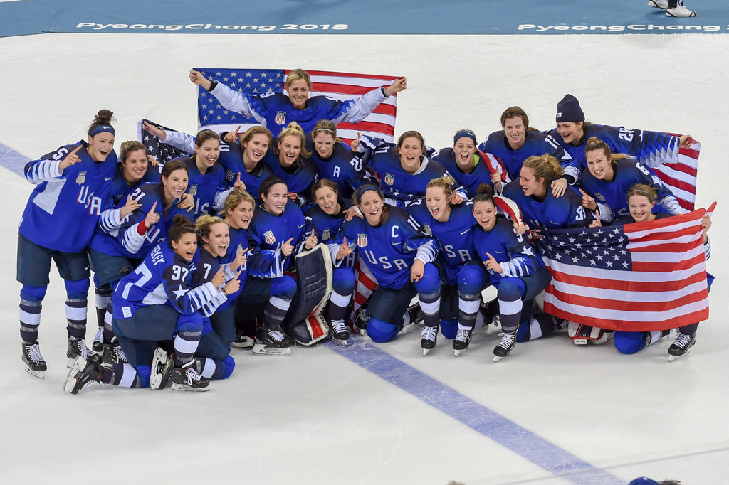 U.S. Women's Hockey Team, 2018 Winter Olympic Games