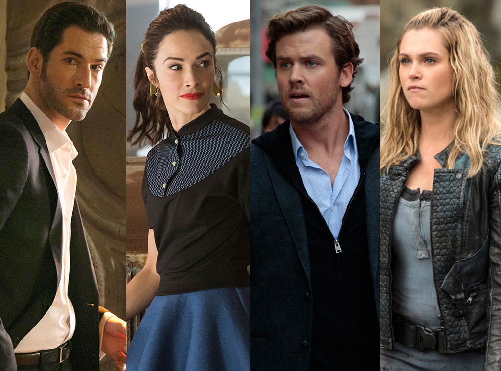Tom Ellis, Abigail Spencer, Jack Cutmore-Scott, Eliza Taylor, TV Awards Winner