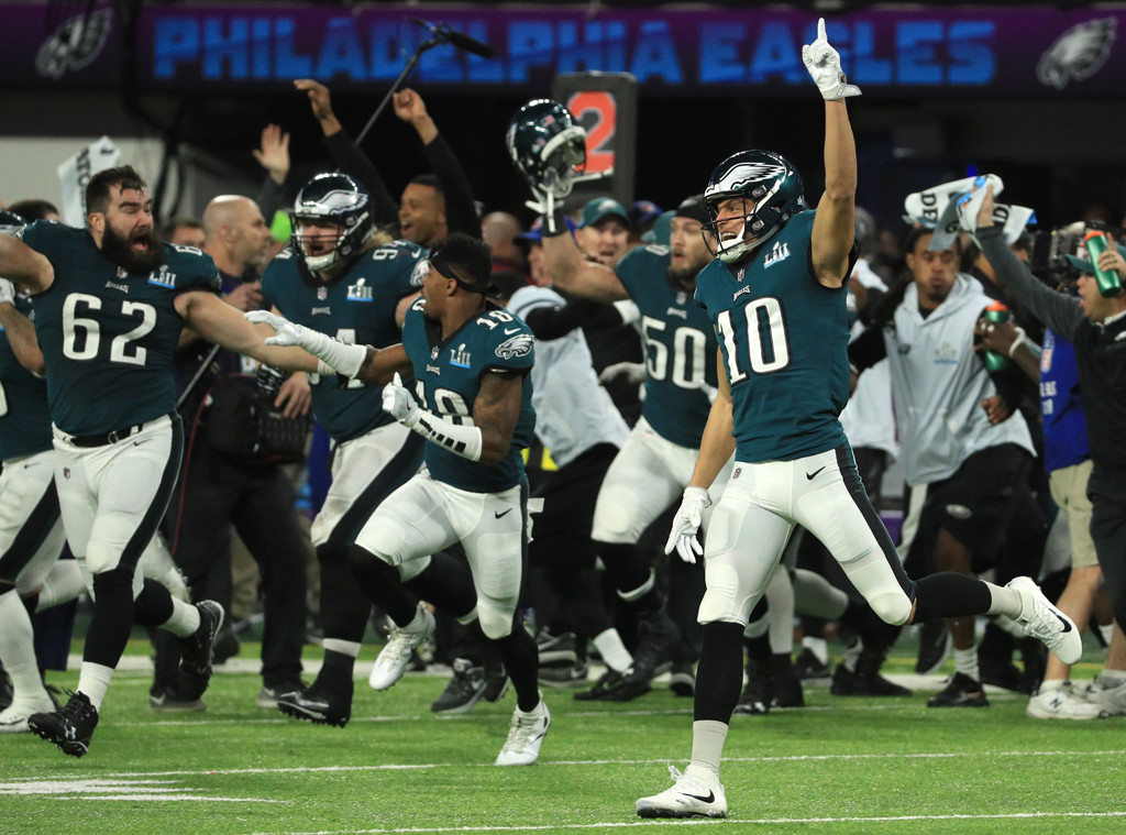 Philadelphia Eagles Winning Super Bowl