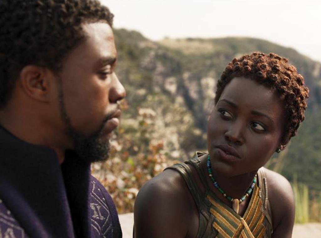 Chadwick Boseman, Lupita Nyongo, Black Panther